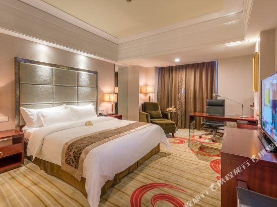 百盛達酒店(佛山千燈湖公園店)(Pasonda Hotel (Foshan Qiandeng Lake Park))豪華大床房