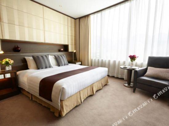 香港南洋酒店(South Pacific Hotel)行政開放式大床客房