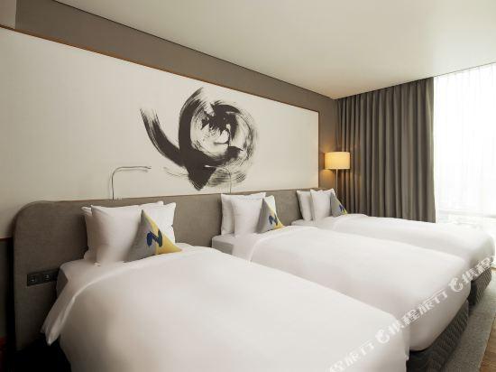 首爾東大門諾富特大使酒店(Novotel Ambassador Seoul Dongdaemun Hotels & Residences)高級三人房