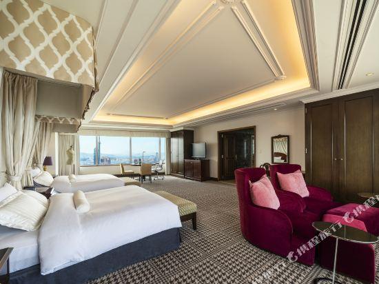 福岡海鷹希爾頓酒店(Hilton Fukuoka Sea Hawk)海灣全景行政套房