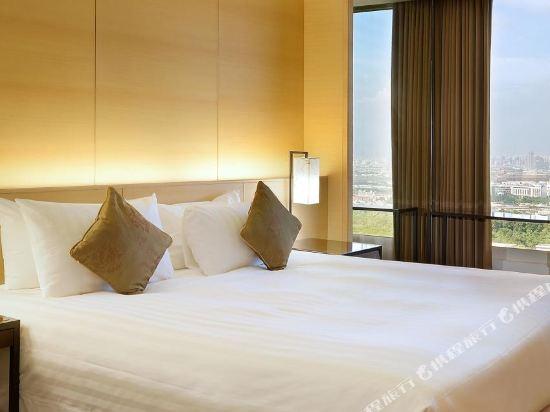 台中烏日清新温泉飯店(Freshfields)景觀雙人房