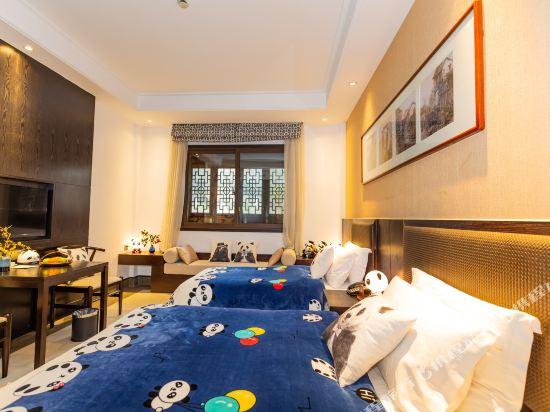 溧陽天目湖南山竹海客棧(御水温泉精品酒店)(Nanshan Zhuhai Inn)親子家庭房