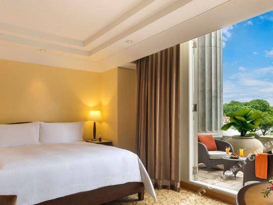 新加坡富麗敦酒店(The Fullerton Hotel Singapore)池景碼頭房