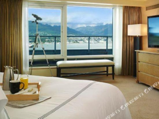 温哥華泛太平洋酒店(Pan Pacific Vancouver)Amber 套房