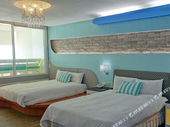 墾丁南灣度假飯店(Kenting Nanwan Resorts)天空Villa四人房
