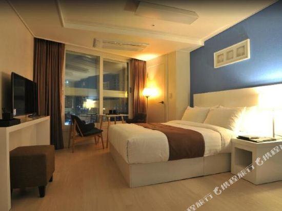 海雲台馬克酒店(Hotel the Mark Haeundae)標準家庭雙床房