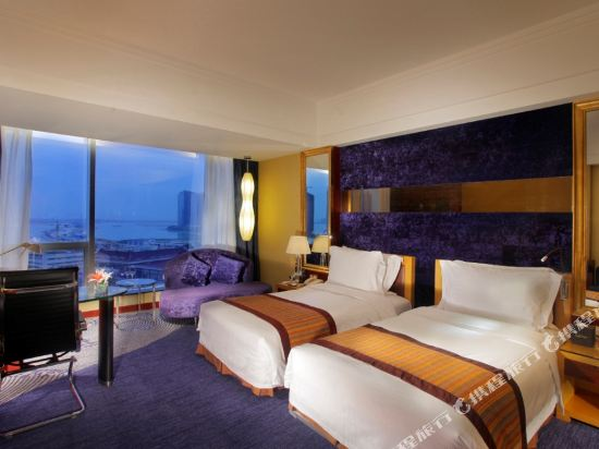 珠海來魅力假日酒店(Charming Holiday Hotel)豪華海景雙床房