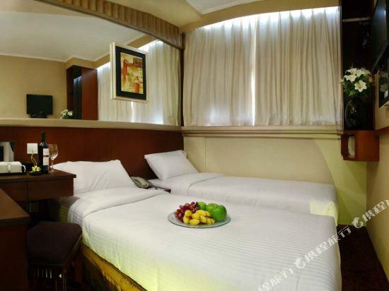 香港東方泛達酒店(Oriental Lander Hotel)高級雙床客房