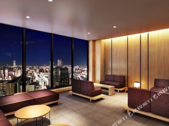 大阪難波光芒酒店(Candeo Hotels Osaka Namba)公共區域