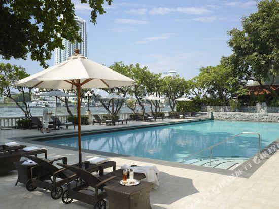曼谷香格里拉酒店(Shangri-La Hotel Bangkok)KTW8 pool