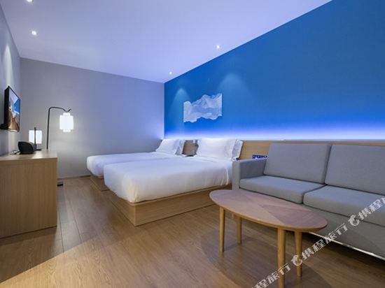 桔子酒店·精選(昆明翠湖店)(Orange Hotel Select (Kunming Green Lake))標準雙床房(無窗)