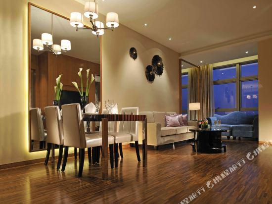 深圳皇庭V國際公寓(原皇庭禮尚公寓)(Wongtee V International Apartment)非凡商務套房2房一廳