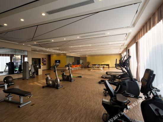 慕思健康睡眠酒店(東莞國際展覽中心店)(DeRUCCI Hotel (Dongguan International Exhibition Center))健身房