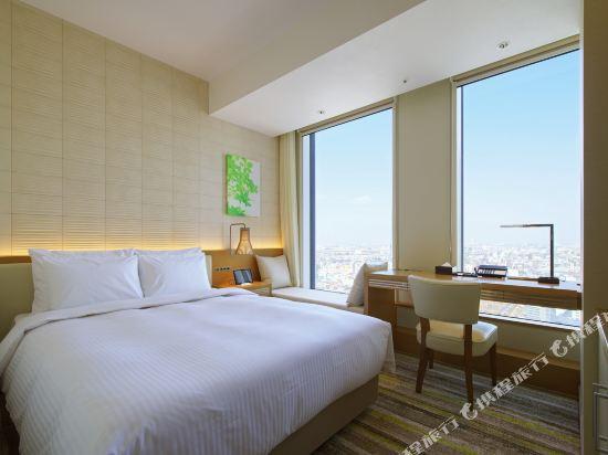 名古屋JR門樓酒店(Nagoya JR Gate Tower Hotel)中型雙人房