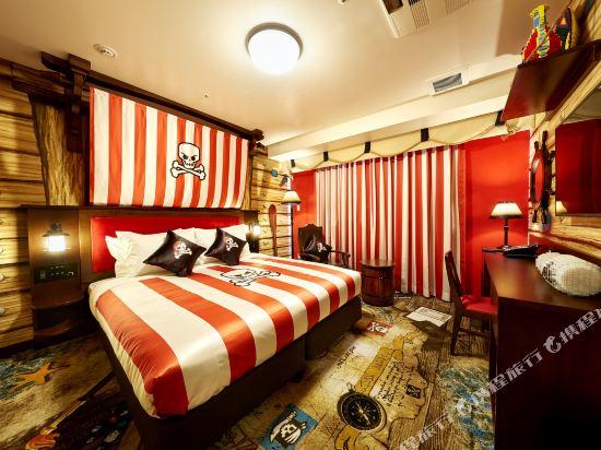 日本樂高樂園酒店(Legoland Japan Hotel)海盜主題甄選房