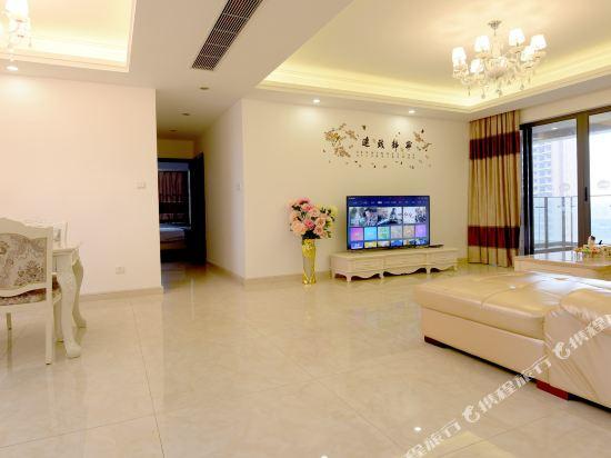 Q加·泰萊半島國際公寓(珠海橫琴海洋王國店)(Tailai Peninsula International Apartment (Zhuhai Hengqin Changlong Ocean Kingdom))豪華歐式寬敞四房二廳套房