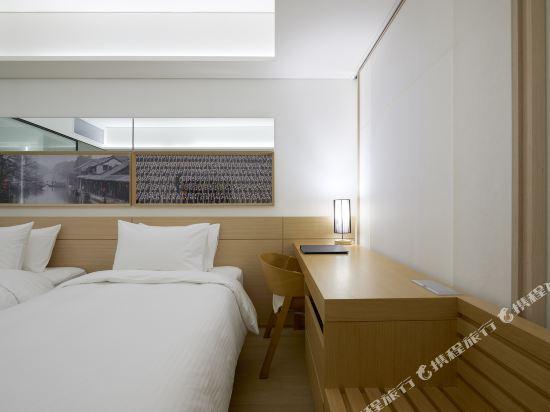 首爾明洞喜普樂吉酒店(原首爾黃金鬱金香M酒店)(Sotetsu Hotels The SPLAISIR Seoul Myeongdong)行政扁柏雙床房