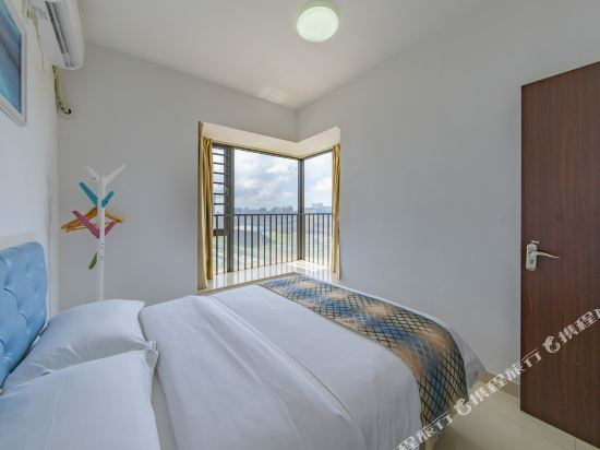 Q加·泰萊童趣主題公寓(珠海橫琴海洋王國店)(Q+ Tailai Tongqu Theme Apartment (Zhuhai Chimelong Ocean Kingdom))歐式豪華三房兩廳兩衞