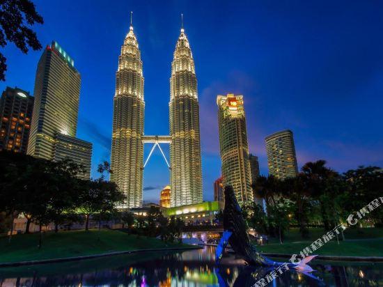 吉隆坡悅榕莊(Banyan Tree Kuala Lumpur)眺望遠景