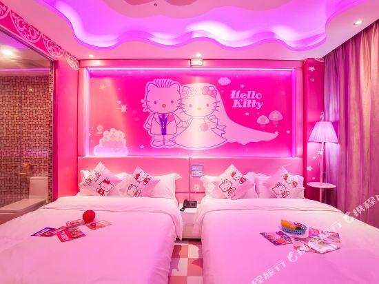 鮮住精品主題酒店(廣州野生動物園店)(原大石地鐵站店)(Xianzhu Boutique Theme Hotel (Guangzhou Wildlife Zoo))HelloKitty度假雙床房