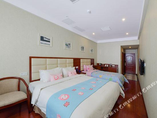 薩維爾金爵·鹿安酒店(上海國際旅遊度假區浦東機場店)(Savile Knight Lu'an Hotel (Shanghai International Tourism and Resorts Zone Pudong Airport))家庭房