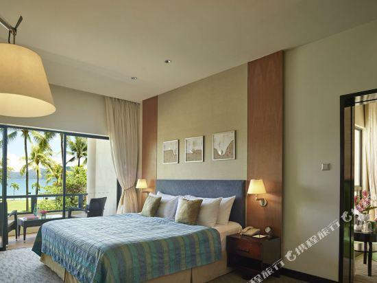哥打京那巴魯香格里拉丹絨亞路酒店(Shangri-La's Tanjung Aru Resort & Spa Kota Kinabalu)基納巴盧樓俱樂部家庭房