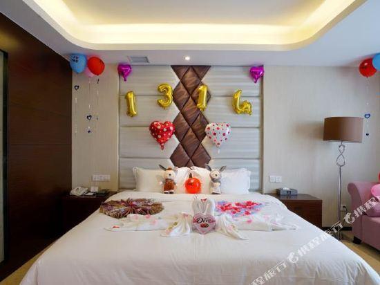 薩維爾金爵·鹿安酒店(上海國際旅遊度假區浦東機場店)(Savile Knight Lu'an Hotel (Shanghai International Tourism and Resorts Zone Pudong Airport))浪漫之旅情侶房