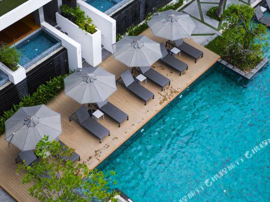 G華欣度假酒店及購物中心(G Hua Hin Resort & Mall)室外游泳池