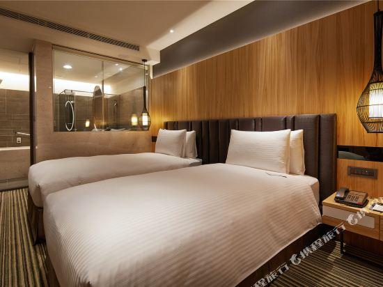 豐邑逢甲商旅(La Vida Hotel)雅緻雙人房(無窗)
