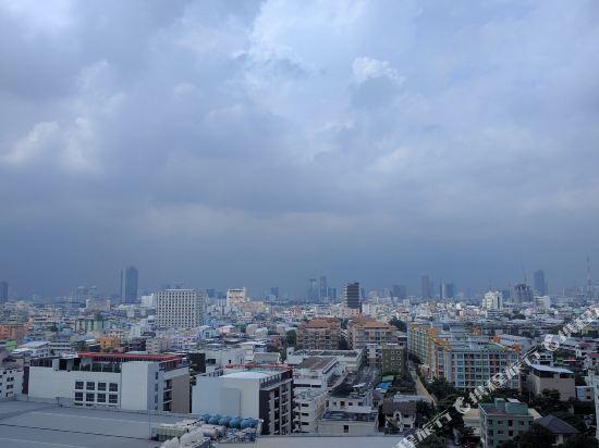 曼谷查達酒店(Bangkok Cha-Da Hotel)眺望遠景