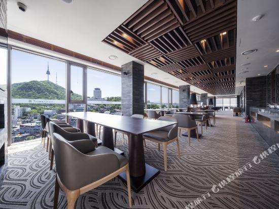 首爾帝馬克豪華酒店明洞(Tmark Grand Hotel Myeongdong)大堂吧
