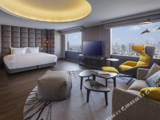大阪南海瑞士酒店(Swissotel Nankai Osaka)皇室套房