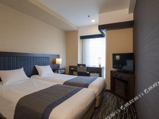 京都新阪急酒店(Hotel New Hankyu Kyoto)緊湊型雙床房
