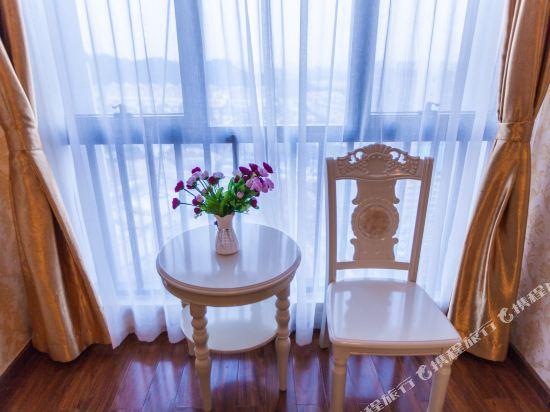 星倫萬達廣場主題公寓(廣州長隆店)(Xinlun Free Hotel International  WanDa)現代主題式雙床房