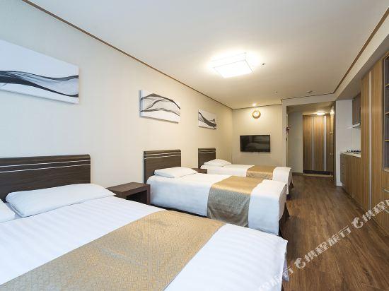 東大門西方高爺公寓酒店(Western Coop Hotel & Residence Dongdaemun)家庭套房