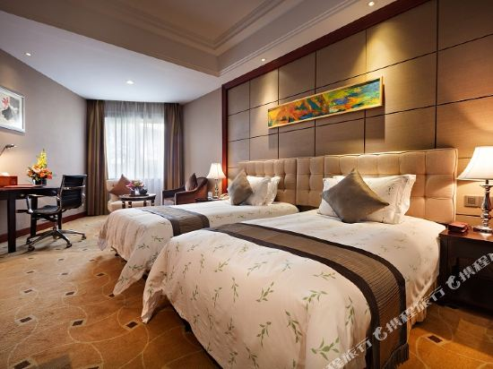 三正半山酒店(東莞橋頭店)(Goodview Hotel (Dongguan Qiaotou))園景區商務雙床房