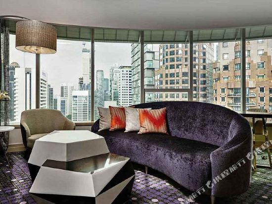 鉑爾曼吉隆坡城市中心大酒店(Pullman Kuala Lumpur City Centre Hotel & Residences)單卧室公寓(特大床)