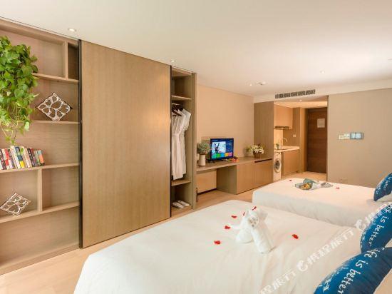 杭州印泰晤士·庭悅酒店(Thames Tingyue Hotel)庭悅江景家庭房