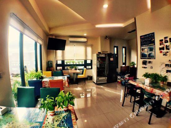 墾丁水漾會館(Aqua Hostel)公共區域