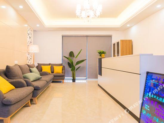 朵雅精品度假公寓(珠海橫琴口岸海洋王國店)(Duoya Boutique Holiday Apartment (Zhuhai Hengqin Port Ocean Kingdom))大堂吧