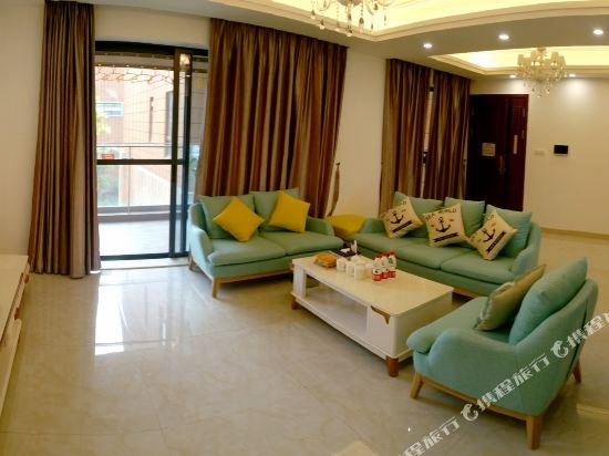 Q加·泰萊半島國際公寓(珠海橫琴海洋王國店)(Tailai Peninsula International Apartment (Zhuhai Hengqin Changlong Ocean Kingdom))精簡現代風三房一廳套房