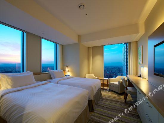 名古屋JR門樓酒店(Nagoya JR Gate Tower Hotel)好萊塢豪華轉角房(雙床)