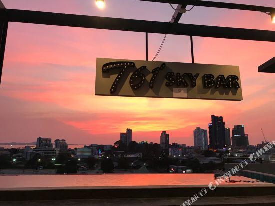 芭堤雅T酒店(T Pattaya Hotel)外觀