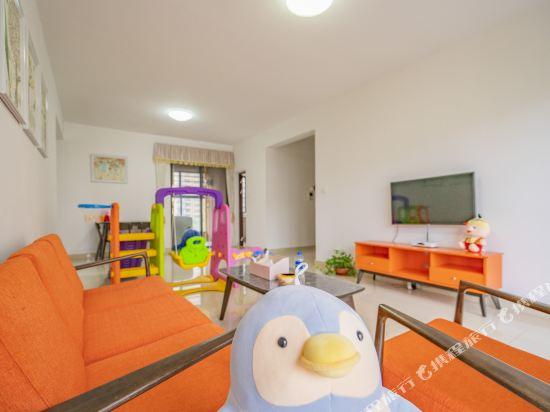 Q加·泰萊童趣主題公寓(珠海橫琴海洋王國店)(Q+ Tailai Tongqu Theme Apartment (Zhuhai Chimelong Ocean Kingdom))迪士尼童趣三房兩廳套房
