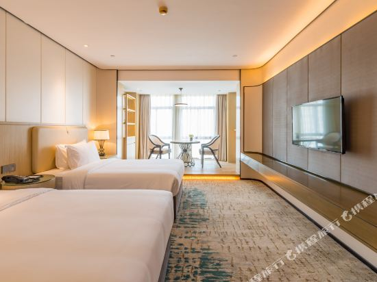 上海智微世紀麗呈酒店(REZEN HOTEL SHANGHAI ZHIWEI CENTURY)豪華雙床房
