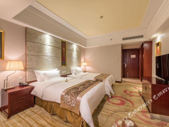 百盛達酒店(佛山千燈湖公園店)(Pasonda Hotel (Foshan Qiandeng Lake Park))惠選雙床房
