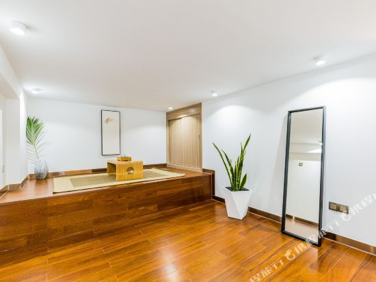 SA漢谷藝術主題公寓(廣州珠江新城店)(SAHangu Art Themed Apartment)閒舍·精緻城景大床房