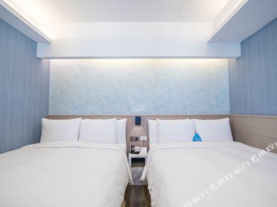 台中隱和旅(INNK Hotel)閣樓四人房