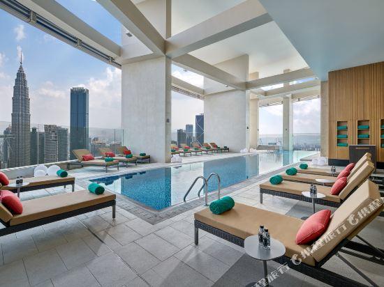 吉隆坡悅榕莊(Banyan Tree Kuala Lumpur)室內游泳池