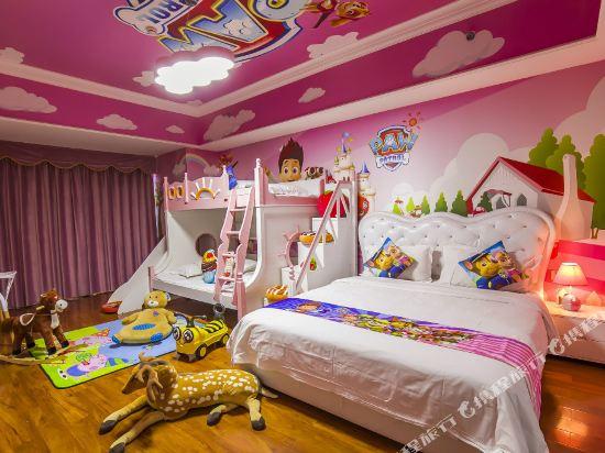 夢幻樂園親子主題公寓(廣州萬達廣場店)(Dreamland Family Theme Apartment (Guangzhou Wanda Plaza))汪汪隊立大功親子滑梯三床房